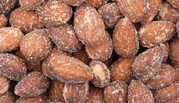 New: Salted Caramel Almonds