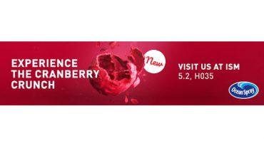 Cranberry-Neuheit & Co. auf der ISM