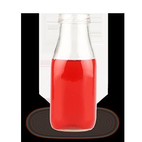 Cranberry-Konzentrat in der Flasche