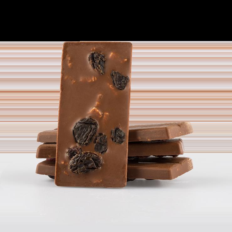 Vollmilchschokolade Rosine & Haferkeks