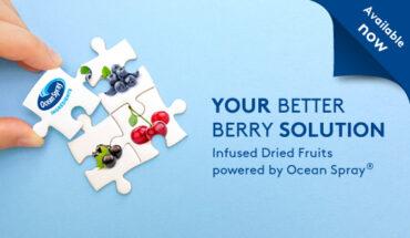 Wir erweitern unser B2B-Portfolio, gemeinsam mit Ocean Spray